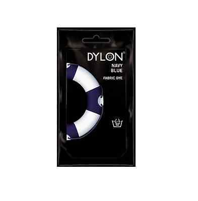 50g DYLON HAND WASH DYE FABRIC CLOTHES CURTAIN TEXTILES JEANS 24 COLOUR CHOICE