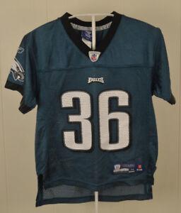 5015d7a7 Details about Reebok Philadelphia Eagles NFL Jersey #36 Brian Westbrook  Kids Medium (5-6)