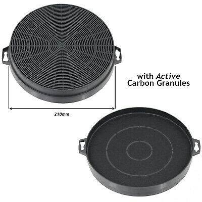 TWO HYGENA Cooker Hood Filter Carbon Charcoal Vent Filters APL APM APP Series