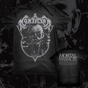 Image Is Loading MORTICIAN Mortal Massacre T SHIRT New York Death