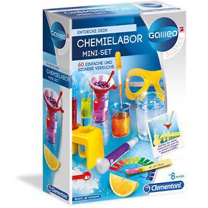 Clementoni-Galileo-Chemie-Labor-Starter-Set-Experimentier-Set-Kasten-mit-Zubehoer