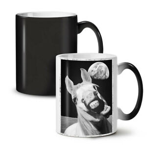 Horse Space Funny NEW Colour Changing Tea Coffee Mug 11 oz | Wellcoda