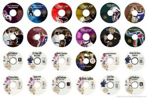 24 Awesome Self Defense DVDS for $120.00 and Free Shipping Best Value
