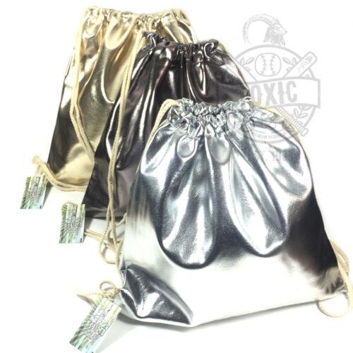 Cooler METALLIC Turnbeutel Gym Bag Beutel Tasche Gold Silber Bronze