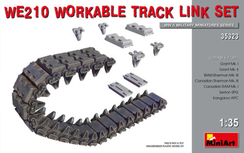 1:35 Mini Art 35323 WE210 WORKABLE TRACK LINK SET
