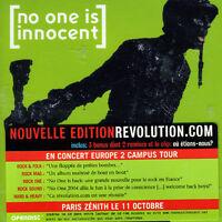 No One Is Innocent - Revolution.com [new Cd]