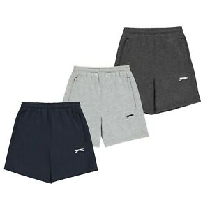 Garcons-Slazenger-Casual-Classique-Confortable-Polaire-Shorts-Tailles-7-To-13