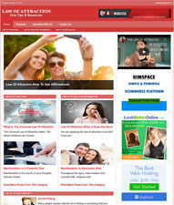 Law Of Attraction Website Business For Sale Work From Home Internet Business