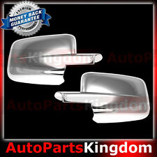 Chrome Mirror Trim Cover w/o Turn Signal For 09-16 Ram 1500+10-16 Ram 2500+3500