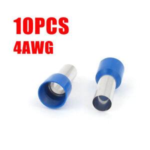 10Pcs-Wire-Copper-Crimp-Connector-Terminal-Insulated-Ferrules-E25-16-4AWG-Blue