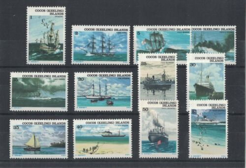 1976 Cocos Keeling Islands Ships SG 2031 muh set