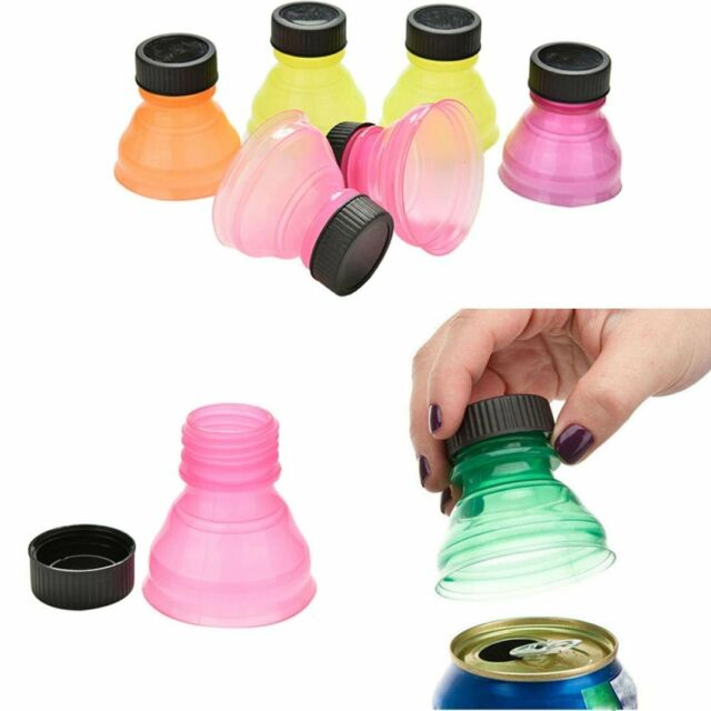 Plastic Soda Saver Bottle Top Cover Lid Beverage Can Protector Cap Sealing Q3Z5