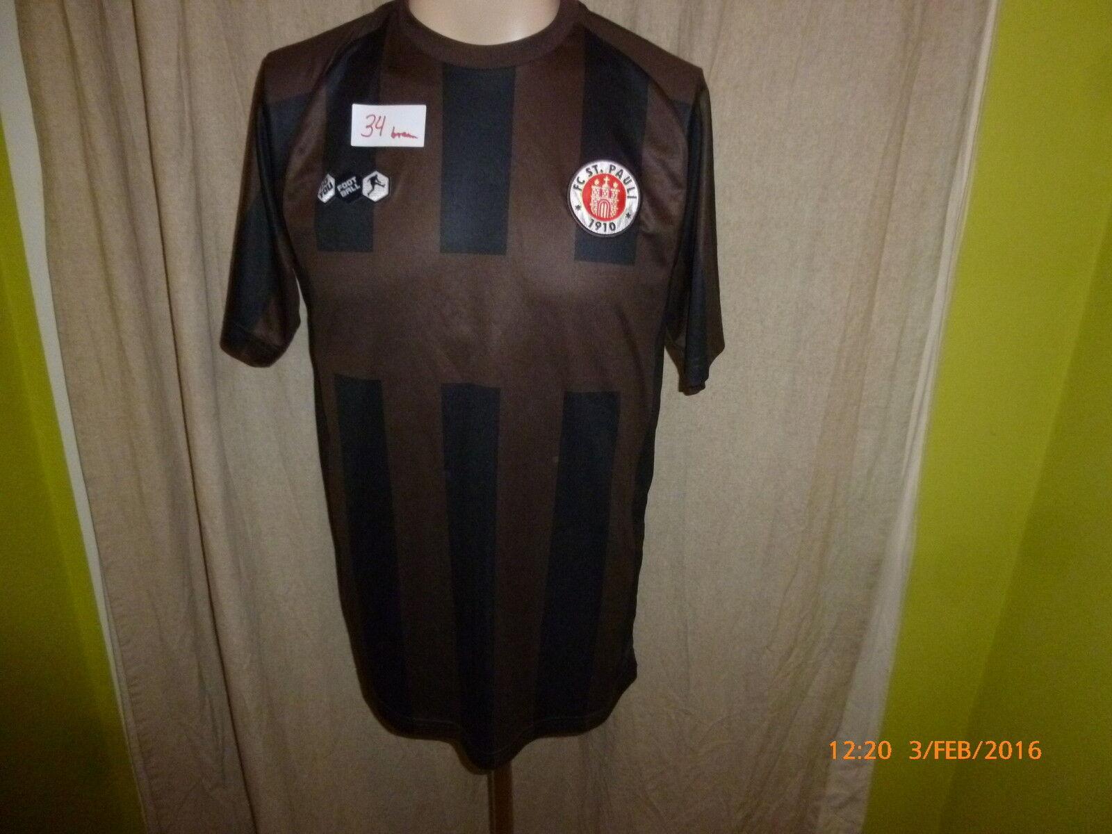 FC St.Pauli St.Pauli FC Original U23 Matchworn Trikot 2011/12