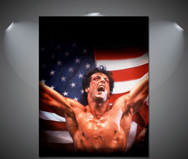 Rocky Sylvester Stallone Vintage Movie Poster - A1, A2, A3, A4 sizes
