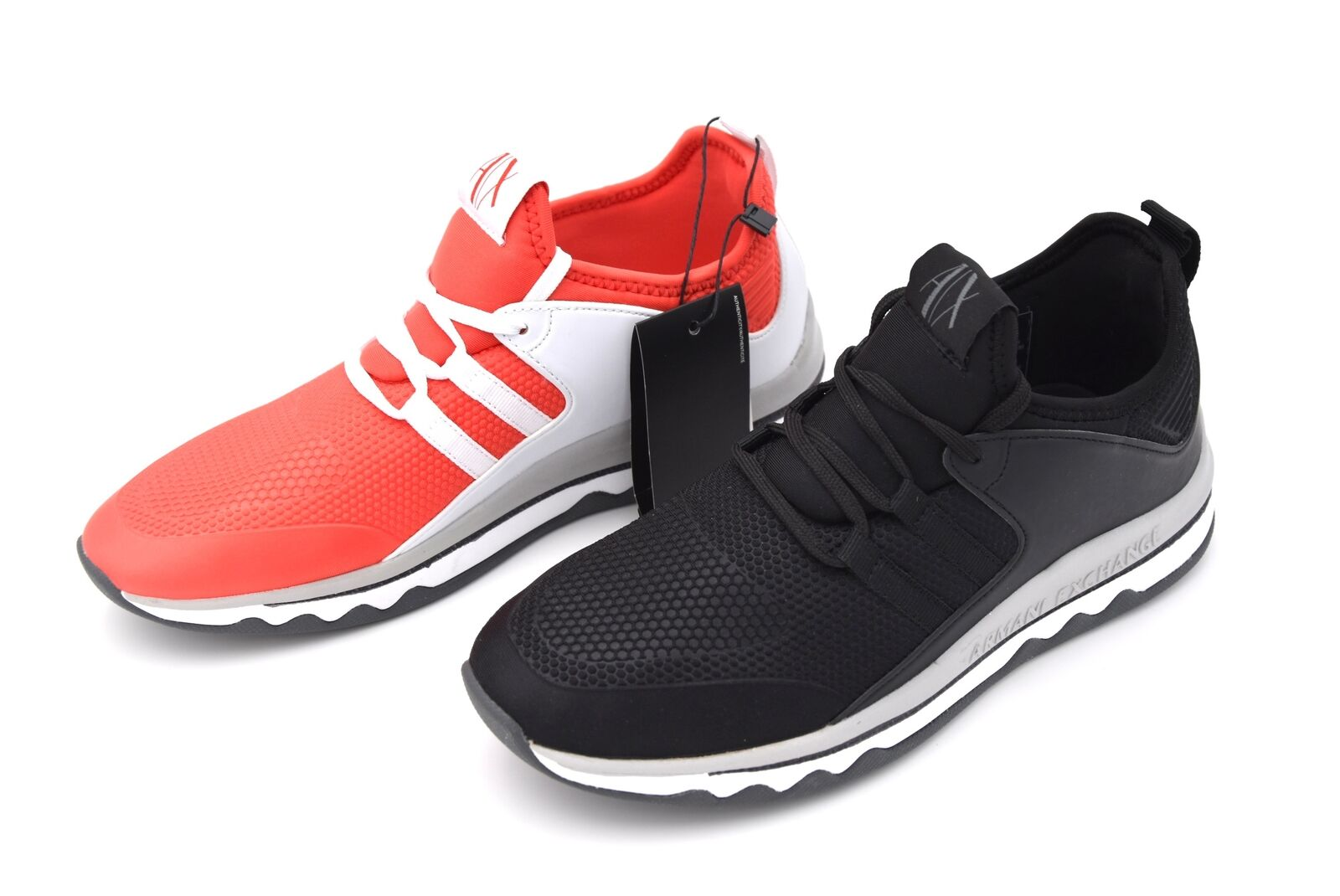 Armani Exchange Hombre Mujer Casual Zapatos Zapatillas De Tiempo Libre Código 945049 8P479
