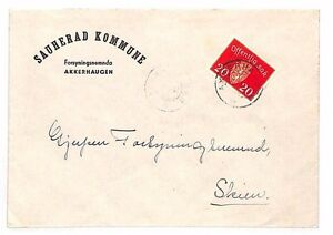 Europe Norway Sporting Bf246 1947 Norway Akkerhaugen Service Stamps Cover Always Buy Good