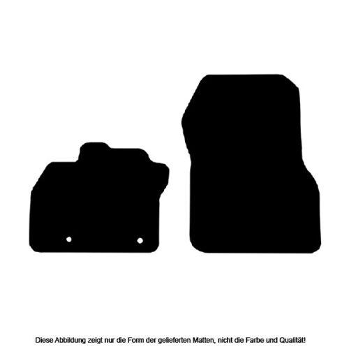Generation ab 2019 Autoteppiche Auto-Fußmatten Doppelrippe für Renault Zoe 2