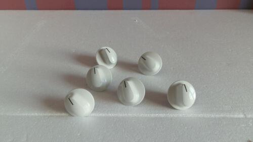 1 X USATO BEKO DV555W Fornello Forno Manopola di controllo in Bianco