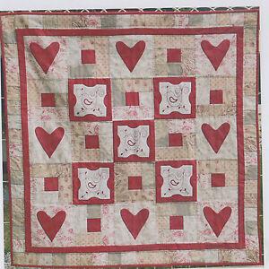 SALE-Petite-Red-Robins-pieced-stitchery-amp-applique-PATTERN-Gail-Pan