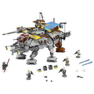 LEGO-Star-Wars-Clones-Rebels-Captain-Rex-039-s-AT-TE-75157-New-No-Outer-Box