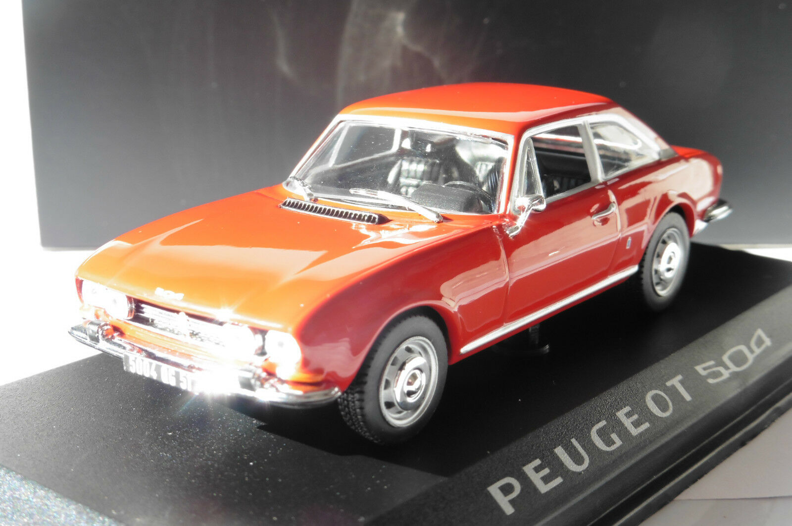 PEUGEOT 504 COUPE 1969 RED NOREV 475416 1 43 red red red ROADSTER DIE CAST
