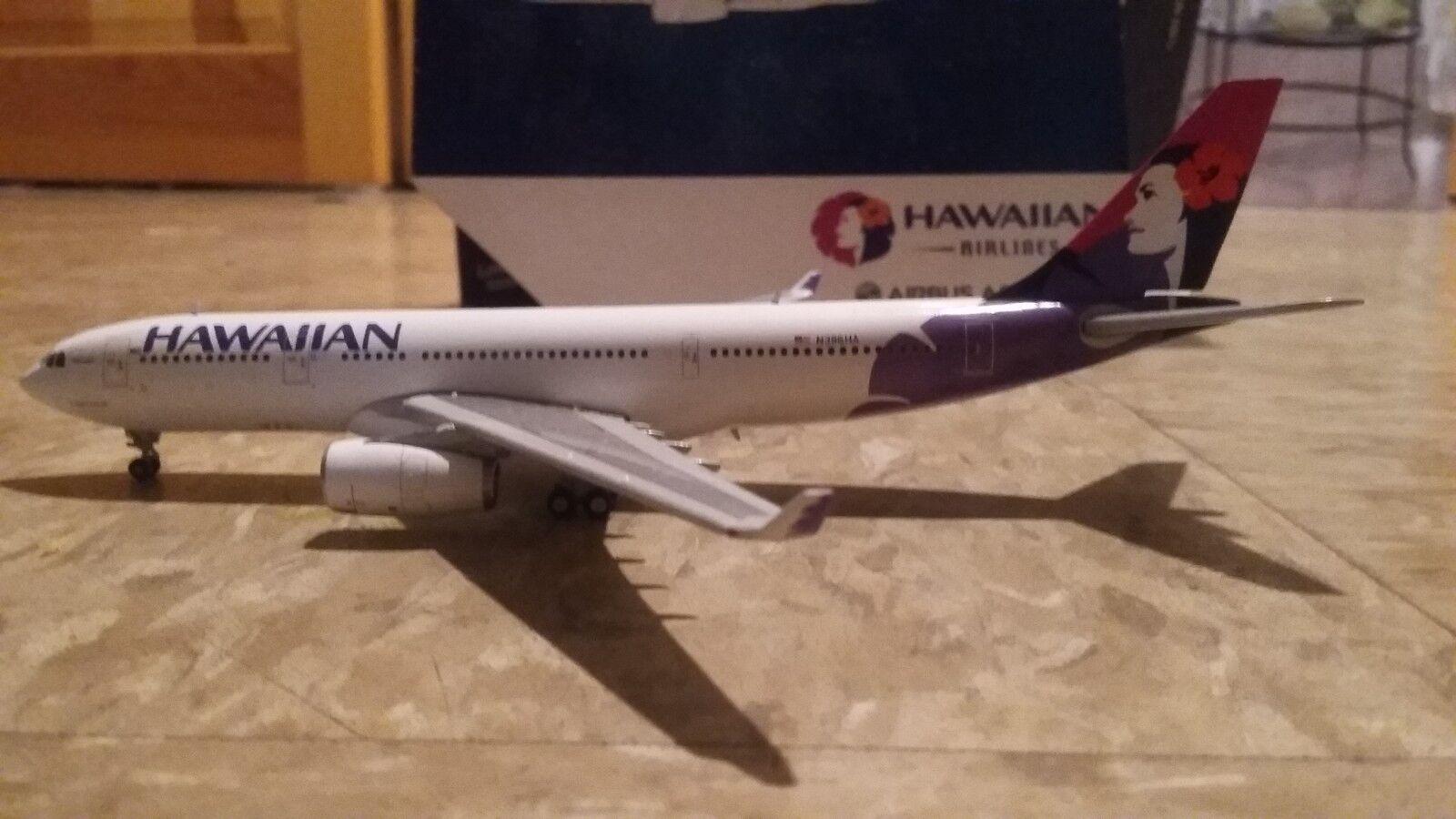 Gemini jets 1 400 Hawaiian airbus 330 200