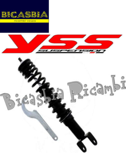 T5 7482 Stoßdämpfer Hinten Verstellbar YSS Vespa 125 150 200 Px
