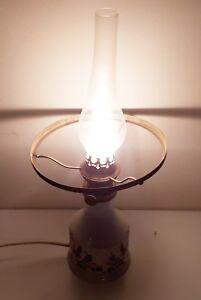 Steh-Stand-Lampe-EDEL-Design-Leuchte-43cm-hoch-Design-Ein-Aus-Schalter-Optik-RAR