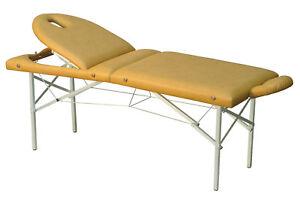 C-138 LETTINO terapia, lettino da massaggio, lettino pieghevole, portatile, con testa extra parte