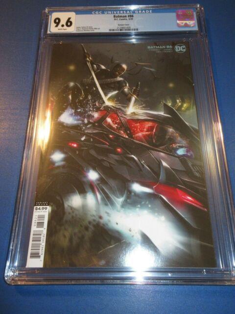 Batman #86 Mattina Variant  CGC 9.6 NM+ Gorgeous Gem Wow