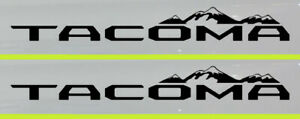 TRD-Tacoma-Mountains-Compatible-Vinyl-Decal-Sticker-Multiple-colors-Toyota-X-2