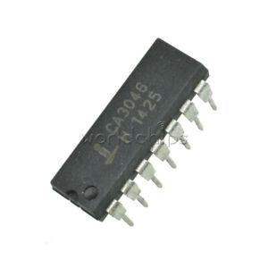 5PCS IC INTERSIL//HARRIS DIP-14 CA3046 CA3046E 100/% Genuine