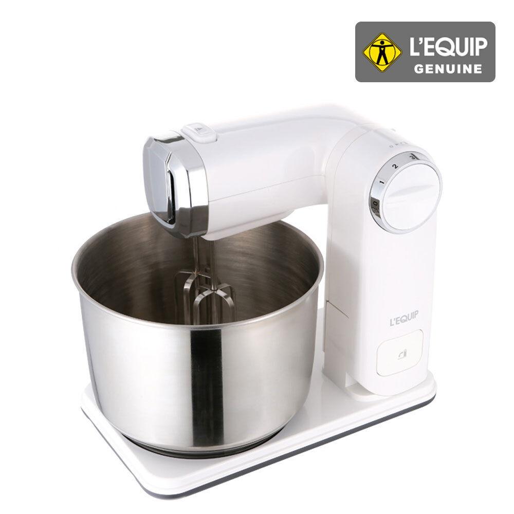 LEQUIP LM-S237 300 W 6 Vitesse Pliable Stand Mixer Compact et léger en acier inoxydable