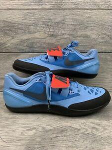 373dd687c823 Nike Zoom Rotational 6 Throwing Shot Put Shoes Size 11 Mens 685131 ...