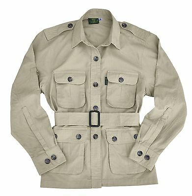Safari Jacket Womens Stone XS thru XL