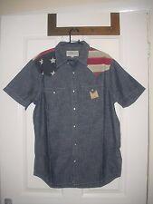Ralph Lauren Denim&Supply gents' US flag short sleeve shirt M RRP: 85 GBP