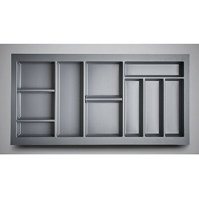 Cutlery Tray with Movable Dividers for Kitchen Drawers Blum Tandembox & Antaro