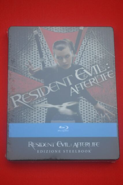 Resident Evil Steelbook AFTERLIFE - EU Import Blu ray New & Sealed