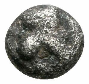 Koc-Greek-Coins-ASIA-MINOR-Uncertain-5th-century-BC-Tetartemorion-5mm-Rare