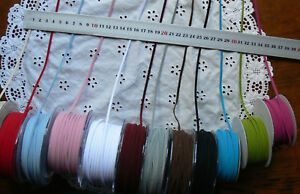 Dbl-Faced-Suede-String-Ribbon-3mmWide-1mmThick-3Metres-12-Colour-Choice-395-Ver3