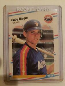Fleer U-89 Update Craig Biggio Rookie, NM, SP,HOF