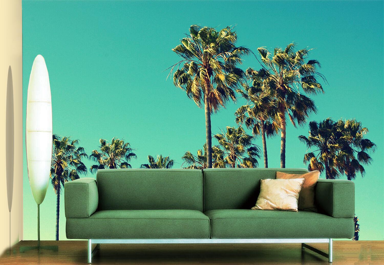 3D Albero,green Parete Murale Foto Carta da parati immagine sfondo muro stamp