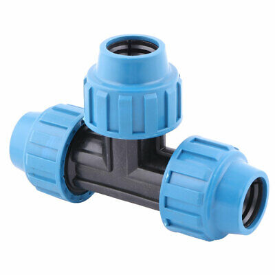 uxcell Plant Irrigation Micro Sprinkler Tube Nozzle Tee Connector 6mm Mounting Dia