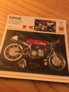 Kawasaki 125 Ka 1 Gp Dave Simmonds 1966 Ka1 Card Motorrad Collection