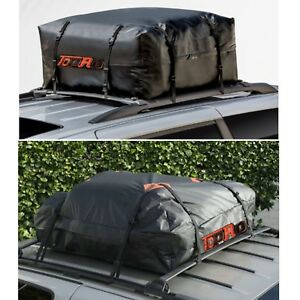 425L Universal Waterproof Car Roof Top Rack  Cargo Carrier Luggage Basket