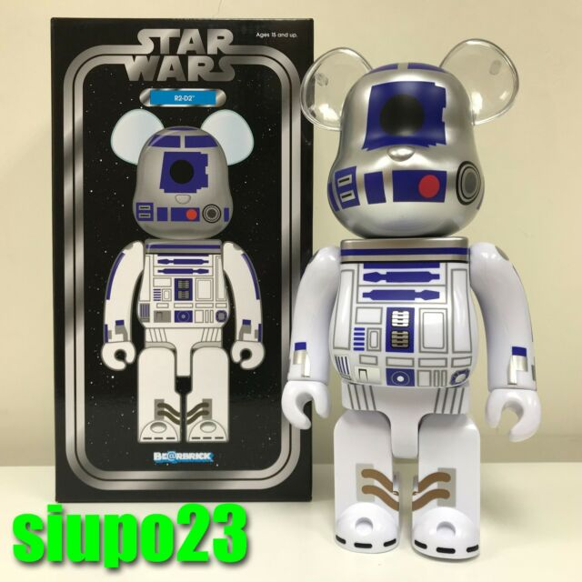 Medicom 100/% Bearbrick ~ Star Wars Be@rbrick R2-D2 40th Anniversary Version