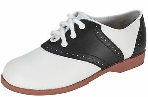 Blue And White Mens Saddle Shoes
