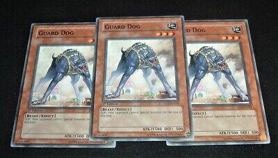 EOJ EN024 1ST ED 3X GUARD DOG COMMON CARDS!