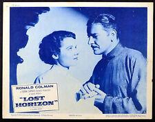 LOST HORIZON 1937 Ronald Colman, Jane Wyatt - Frank Capra LOBBY CARD