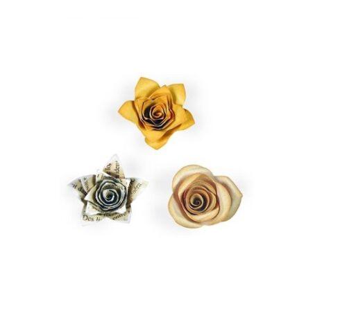 Fustella Sizzix Bigz Big Shot Rose in  3-D 657822